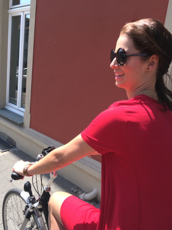 Red Dress Sunday Bike