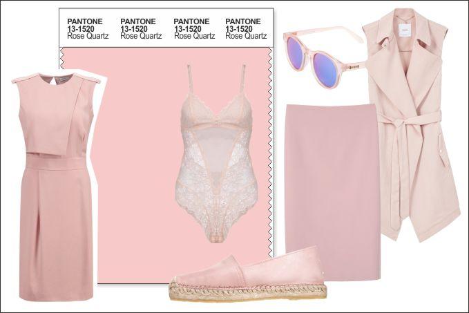 Pantone Trendfarbe 2016 Rose Quartz