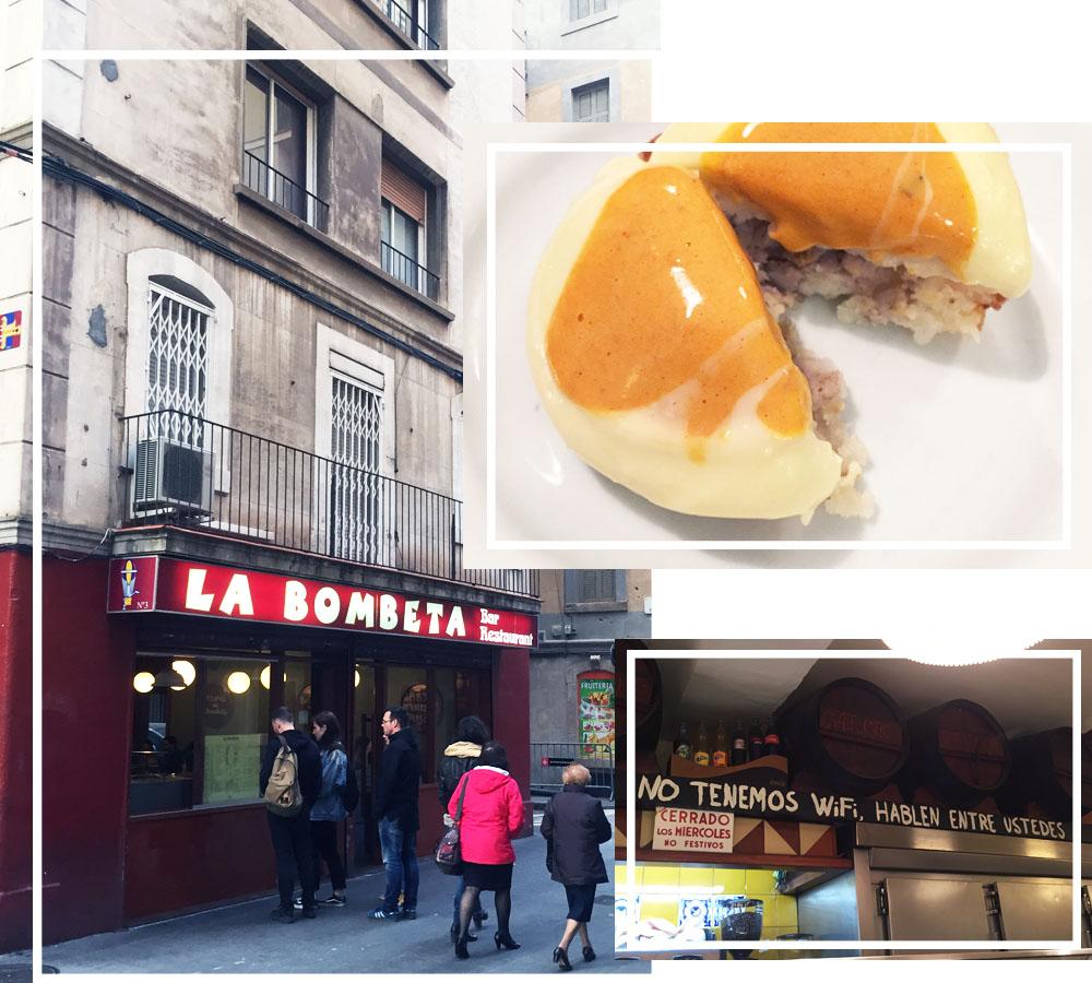 La Bombeta Barcelona Tapas Bar