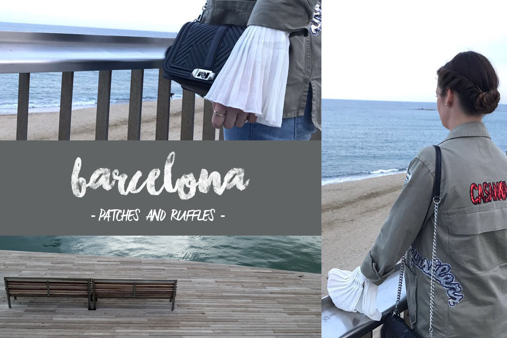 Barcelona Outfit Ruffles and Patches