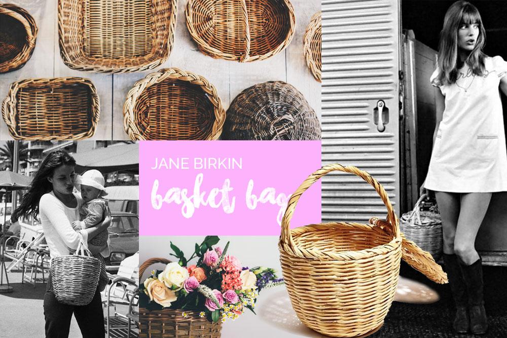 Der Taschen Trend 2017 – Die Jane Birkin Basket Bag