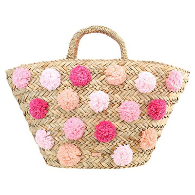 Basket Bag Ted Baker mit Pom Poms