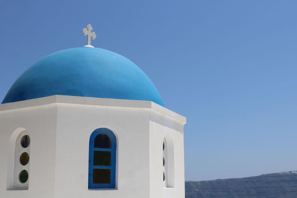Santorini Kuppel