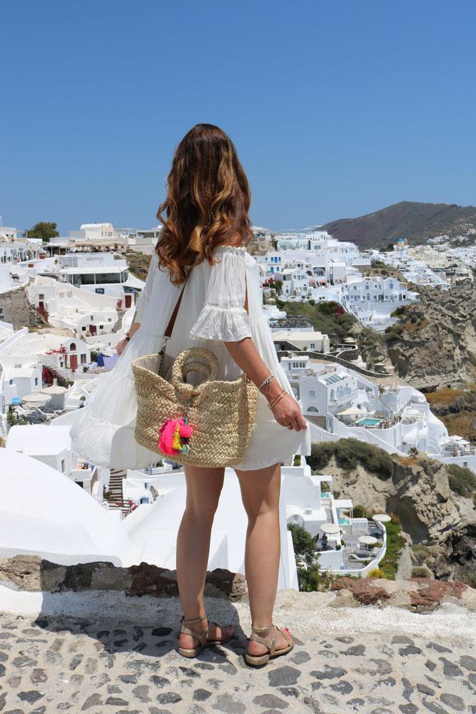 Schwangerschaftsoutfit Santorini