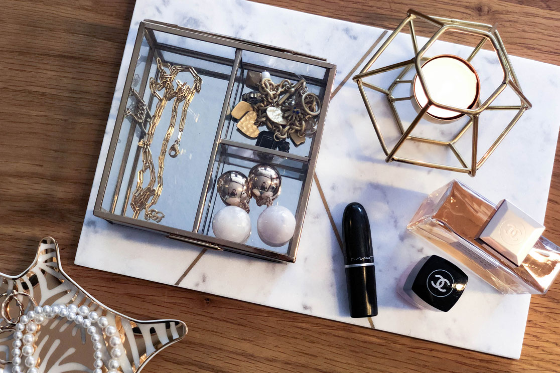 Flatlay H&M Home Favoriten