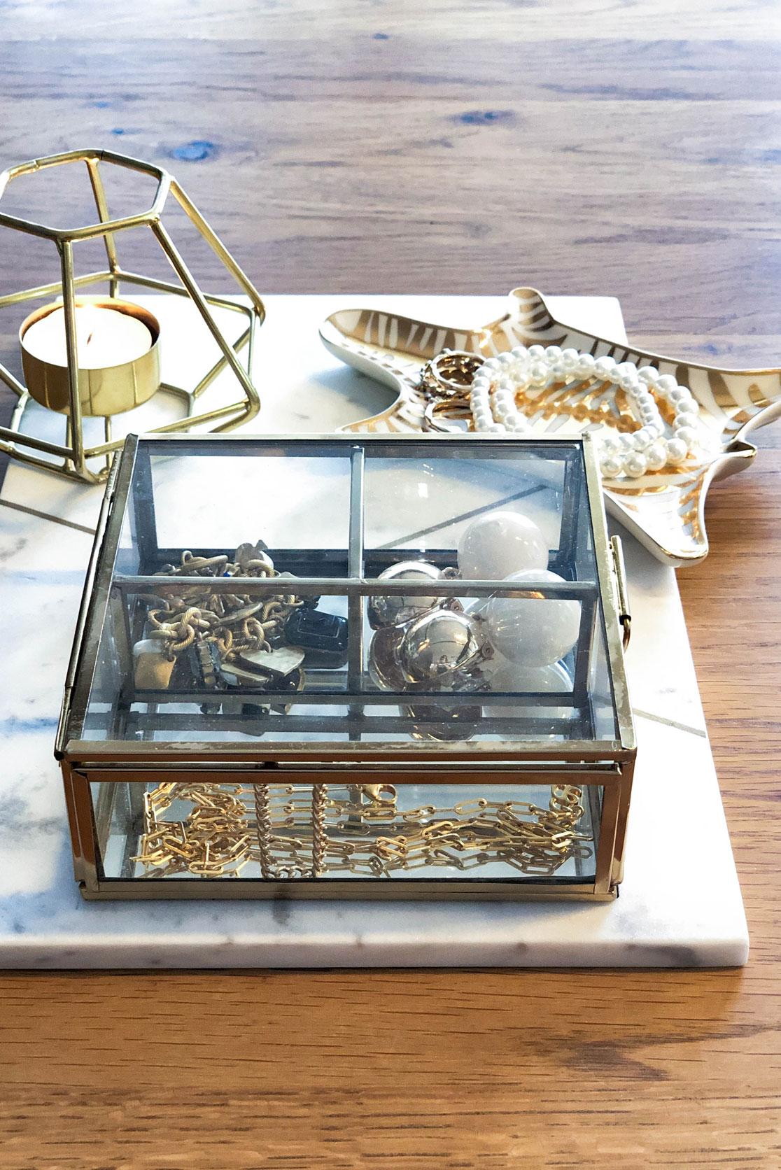 Schmuckkasten gold H&M Home