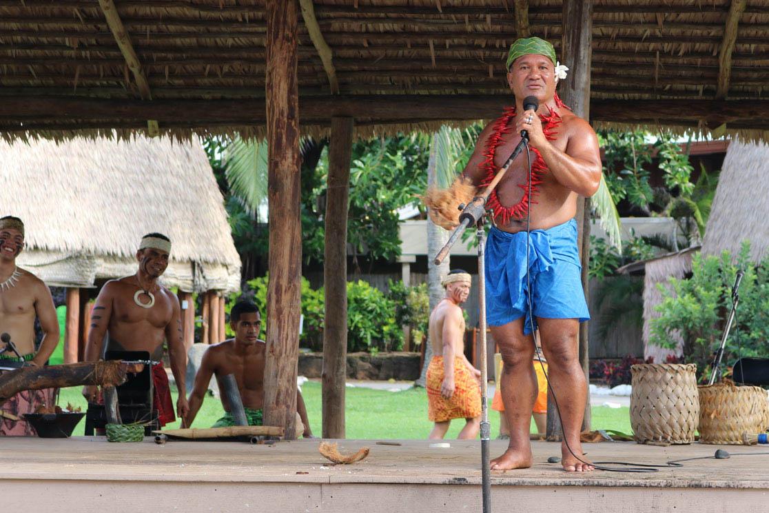 Vorführung Polynesien Cultural Center Oahu